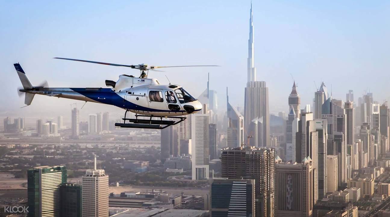HeliDubai Helicopter Flight